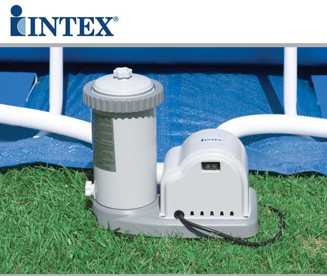 Piscina intex 488x122 ultra frame tonda 54452 - Pompa piscina intex ...